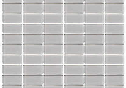 "Interglass Glassique Nickel 12""x12"" INCGLSQNICK12MOS"