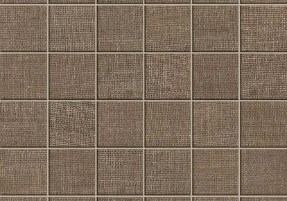 "Jute Brown Coffee Mosaic 12""x12"" ACUAT6B"