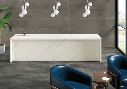 "Porcelain Countertops State of Grace 64""x128"" PC011.1SLAB12"