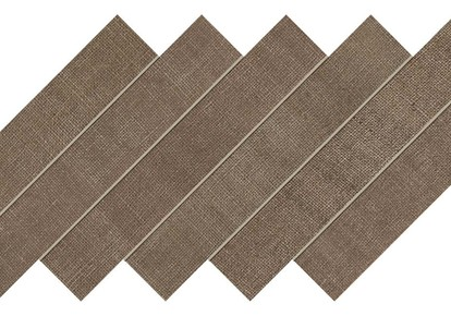 "Jute Brown Coffee Herringbone Mosaic 12""x12"" ACUAT87"