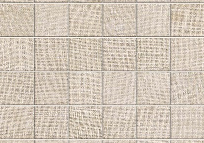 "Jute Pure Cotton Mosaic 12""x12"" ACUAT58"