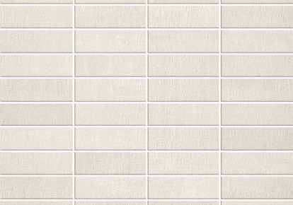 "Fray White Wall Mosaic 12""x12"" ACUAZCEA"
