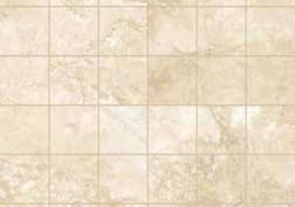 "REALE TRAVERTINO Ivory 2""x2"" INCTVROIVOY12MO"