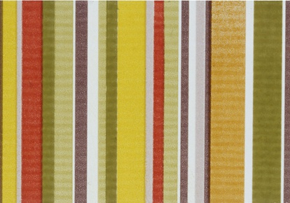"Aquarelle Green Stripes Wall Listel 4""x10"" INCAQUAGREE410"