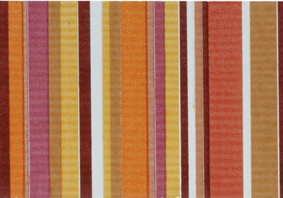 "Aquarelle Red Stripes Wal Listel 4""x10"" INCAQUARED410"
