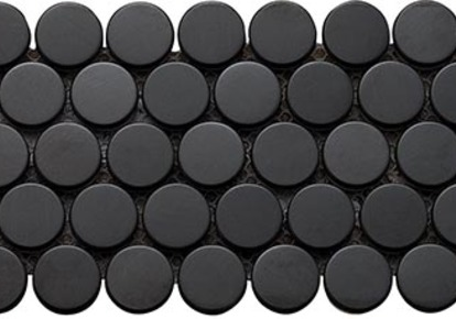 "Inox Black Wall Tile 12""X12"" INCINMPBLAC1212"